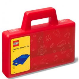 Maletín de ordenación LEGO rojo
