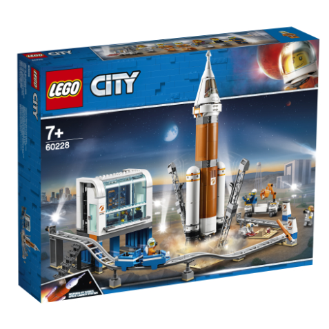 Cohete Espacial de Larga Distancia y Centro de Control