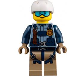 Oficial policía de montaña