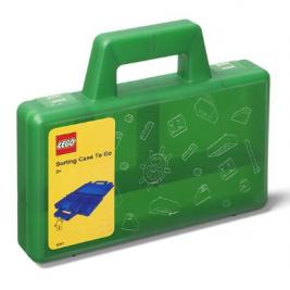 Maletín de ordenación LEGO verde