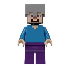 Steve con casco
