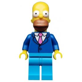 Homer Simpson con chaqueta