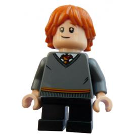 Ron Weasley con jersey de Gryffindor