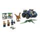 Fuga del Gallimimus y el Pteranodon