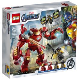 Hulkbuster de Iron Man vs. Agente de A.I.M.