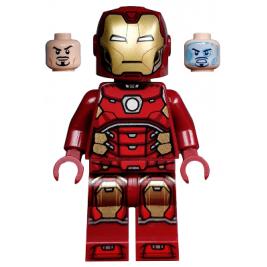 Iron Man (con hexágono plateado en el pecho)