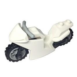 Moto blanca