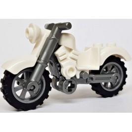 Motocicleta blanca