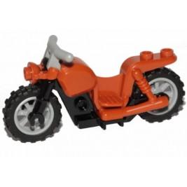 Motocicleta naranja