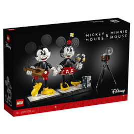 Personajes Construibles: Mickey Mouse y Minnie Mouse