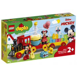 Tren de Cumpleaños de Mickey y Minnie