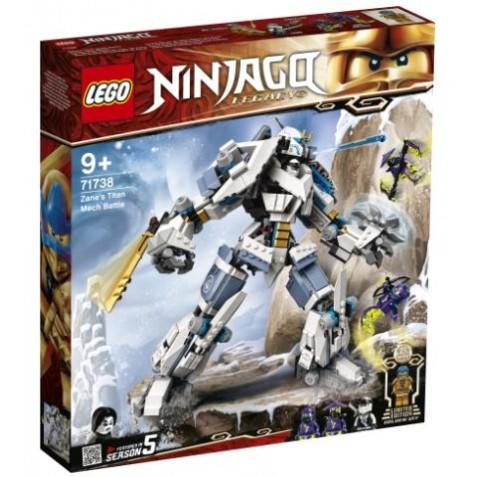 Combate en el Titán Robot de Zane