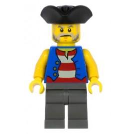 Pirata con pantalón gris