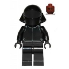 First Order Crew Member - cara marron oscura