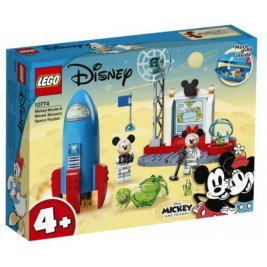 Cohete Espacial de Mickey Mouse y Minnie Mouse