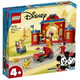 Parque y Camión de Bomberos de Mickey y sus Amigos