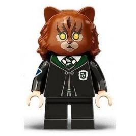 Hermione transformada en gato
