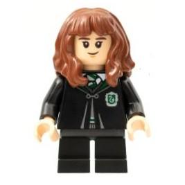 Hermione Granger - Uniforme Slytherin