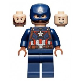 Capitán América - guantes marrones