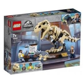 Exposición del Dinosaurio T. rex Fosilizado