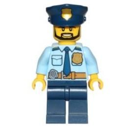 Policía - Con barba
