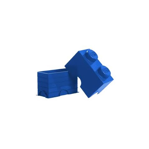 Storage brick 2 blue