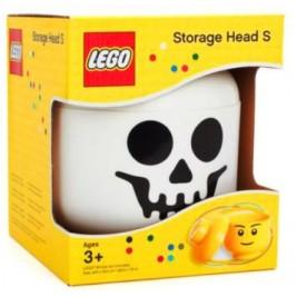 Cabeza almacenaje pequeña esqueleto