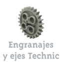 Ejes y engranajes Technic